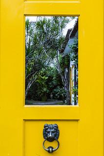 Door or frame? Paraty - Brazil