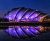 SEC Armadillo - Auditorium Glasgow Scotland (Catherine Cochrane) Tags: sky water reflections colours armadillo glasgow city cityscape nightshots outdoors architecture concerts structure modern design