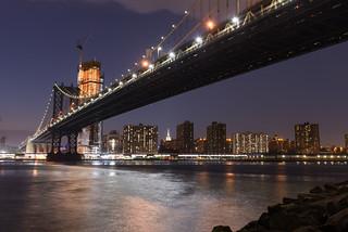 NYC, United States - Manhattan Bridge
