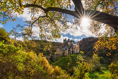 Castle Eltz (Alexander Lauterbach Photography) Tags: eltz castle burg mosel pfalz herbst autumn fall sunshine germany deutschland sony a7r landscape nature