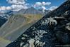 Trekking through precarious scree (Tatters ✾) Tags: altai russia rocks курумник trekking hiking path oloneo mountains alpine