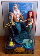 DFDC Ariel and King Triton (Lagoona89) Tags: disney fairytale designer collection dolls the little mermaid ariel arielle king triton ds limited edition le