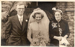Norman Eric, Colleena June Dalmer and Florence Emily Wood