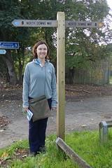 PA030112 (Robert A Stanford) Tags: walking north downs way