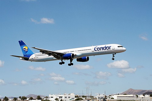 Condor D-ABOA B757-300 Arrecife(6) - Copy
