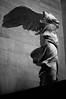 Victoire de Samothrace 🌹 (RedHead Moonchild) Tags: sculpture victoire victory louvre paris art beauty woman black white