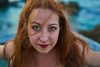 The little mermaid (Vincent Monsonego) Tags: sony ilce7rm2 zeiss sonnar t fe 55 mm f18 za sel55f18z love woman beautiful smile portrait ocean sea israel caesarea redhead a7rii a7r2