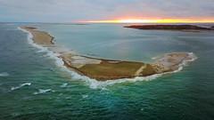 South Beach Island at Chatham, Cape Cod Aerial (Chris Seufert) Tags: capecod chatham southbeach island monomoy break new coastalerosion newengland drone aerial