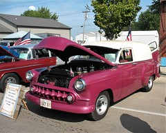 1953 Chevrolet Sedan Delivery (ilgunmkr - Mourning The Loss Of My Wife Of 52 Year) Tags: carshow bradfordillinois 2017 chevrolet chevy sedandelivery 1953 inlinesix dualcarbs