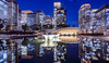 One night in Tokyo (JohnNguyen0297 (busy - on/off)) Tags: tokyo bluehour nightshot nightphotography longexposure cityscape japan sonya6000 reflection moat