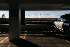Give What You Take (davelawrence8) Tags: 2016 annarbor autumn light michigan parkinggarage shadow usa