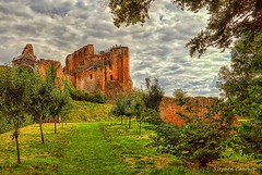 Kenilworth Castle Grounds (Light+Shade [spcandler.zenfolio.com]) Tags: ©stephencandlerphotography spcandler stephencandlerphotography httpspcandlerzenfoliocom stephencandler england uk lightshade warwickshire kenilworthcastle englishheritage castle trees historical ruins clouds