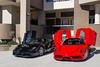 Seeing Double (Noah L. Photography) Tags: enzo ferrari red car sportscar supercar hypercar italian hingwalee carsandchronos walnut davidsklee black