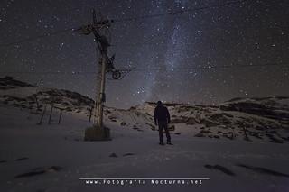 Fotografia nocturna en alto campoo