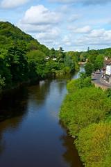 Ironbridge, Historic Village (Martin Pettitt) Tags: august daytrip dslr historic ironbridge nikond7100 shropshire summer telford village shopshire uk river seven