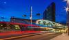 lights of the night (jwfoto1973) Tags: bahnhof arnhemcentraal arnheim arnhem busbahnhof niederlande nederland light lights licht lichter lichtmalerei lightpainting architektur architecture blauestunde bluehour johannesweyers nikon nachtaufnahme nachtarchitektur