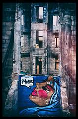 ruinsart (Mark Concialdi) Tags: art miami ruins abandoned hotel surreal abstract woman
