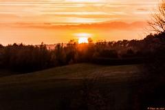 Autumn sunset above the countryside (Fleur Du Chat) Tags: sunset autumn automne countryside campagne