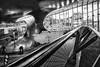 Central space Station Arnhem (Ed Bensink) Tags: central station spacestation bw blackwhite lines arnhem