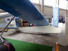 BGA1165 / BRC Slingsby T45 Swallow 1 cn 1407 RAF Scampton 09Sep17 (kerrydavidtaylor) Tags: sqz egxp lincolnshire glider sailplane