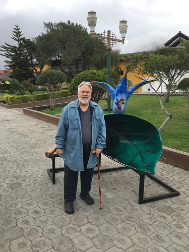 Old Gringo at the Equator