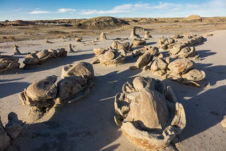 Bisti Wilderness, Cracked Eggs, New Mexico