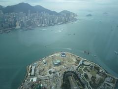 IMG_0540 (Sweet One) Tags: icc sky100 observationdeck view city skyline buildings towers hongkong harbour