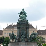 Maria Theresa Statue in Vienna, Austria thumbnail