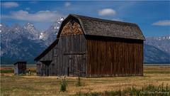 Mormon Barn (geoff_sharpe) Tags: mormon barn wyoming grand tetons row