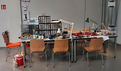 Lötworkshop (stiefkind) Tags: vcfb vcfb2017 vcfb17 vintagecomputing