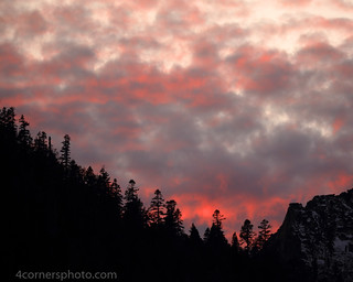 Autumn Sunset, Eldorado County, CA