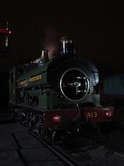 IMG_7912 - GWR Hudswell Clarke Saddle Tank 813 (SVREnthusiast) Tags: severnvalleyrailway svr severnvalley severn valley railway gwrhudswellclarkesaddletank813 gwr hudswellclarke saddletank 813