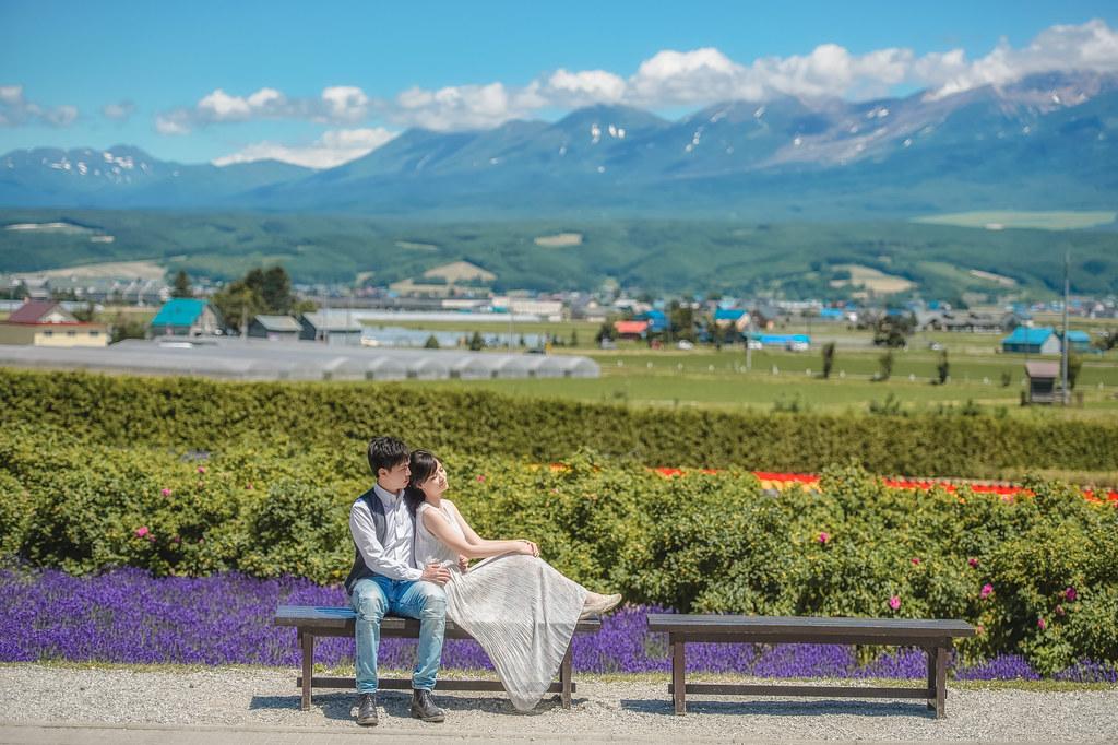 北海道婚紗 富良野婚紗拍攝