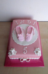 indi 5 ballet (semivi) Tags: girl pink white ballet shoe birthday cake semivi