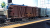 Outside Braced Wooden Box Car (Engineering with ABS) Tags: lego santafe railroad train boxcar outsidebraced wooden