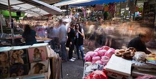 Friday at noon, Carmel Market, TLV