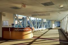 Information (David DeCamp) Tags: hallway office desk