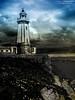 Faro Aviles (zalo_astur) Tags: farodeaviles faro troncopiramidal luz baliza mar tambordióptrico playa nubes cielo acantilado rocas flores cantabrico