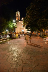 Evening stroll (rockymt98) Tags: zocalo valladolid cathedral