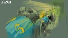 F 166 FL s (Stefan Marjoram) Tags: sketch drawing ipad pro procreate apple pencil car vintage racing plein air