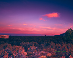 Dawn in Taos (Santa Fe -- Taos Fine Art Photography) Tags: painting dawn northern new mexico sunrise captureonepro sage brush first light taos santa fe