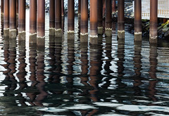 Brown and blue reflection (Bente Nordhagen) Tags: speiling reflecton