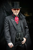 Whitby Goth Weekend, October 2017. (Gordon.A) Tags: whitby whitbygoths whitbygothweekend wgw wgw2017 goth gothic creative culture man people peoplewatching hat festival event streetevent eventphotography amateur streetphotography streetportrait colourportrait colourstreetportrait portrait pose naturallight naturallightportrait day daylight digital canon eos canoneos750d sigma sigma50100mmf18dc
