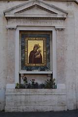 Rome, Italy - Shrine - Ave Maria Gratia Plena (jrozwado) Tags: europe italy italia rome roma unescoworldheritage shrine mary stmary santamaria avemariagratiaplena madonna child jesus christ