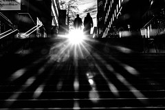 Shine a light (andersåkerblom) Tags: silhouette streetphotography streetphoto street monochrome blackandwhite bw bnw light