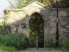 Mariner's Score, Lowestoft, Suffolk (LookaroundAnne) Tags: gwuk arch gothic archway marinersscore score lowestoft suffolk wall brickwork