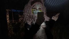 .027 (sadfat) Tags: sl secondlife bttb due villena wednesday night texting cute grungy grunge speakeasy