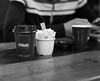 Fuel (Joe Daly) Tags: leica leicam leicamtyp240 leicam240 photography camera 35mm summicron london pigeon bw blackandwhite photographer bwstreetphotography street monochrom people streetlife coffee cafe