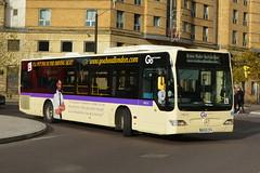 BD09 ZPV (MEC15) Go-Ahead London (hotspur_star) Tags: londontransport londonbuses londonbus londonbuses2017 tfl transportforlondon trainingbus busscene2017 singledeck bd09zpv mec15 mercedesbenz citaro goaheadlondon
