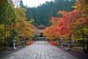 Autumn path (Channed) Tags: asia azië japan koyasan okunoincemetery okunoin cemetery temple graveyard autumn tree colors path channedimages chantalnederstigt